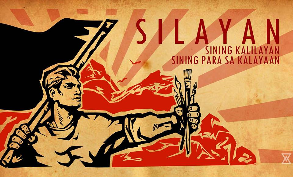 Silayan SILAYAN (SIning kaLAYAAN). Ito ay grupong mula sa lalawigan ng Quezon na magsusulong ng progresibo at makabayang kultura mula sa mamamayan tungo sa mamamayan.